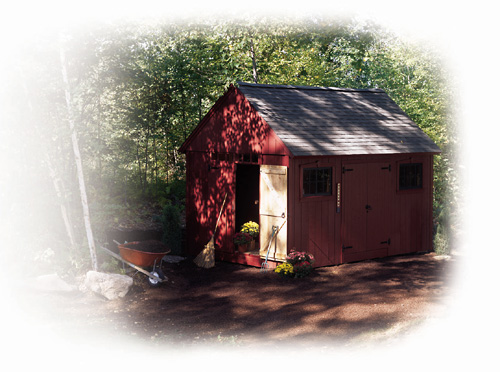 25 free garden shed plans for Colonial shed plans