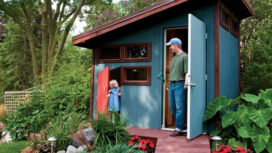 25 Free Garden Shed Plans