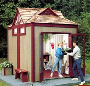 Gabled 8x10 Garden Shed Free Plan