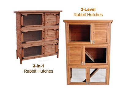 three story rabbit hutch triple wooden rabbit hutch