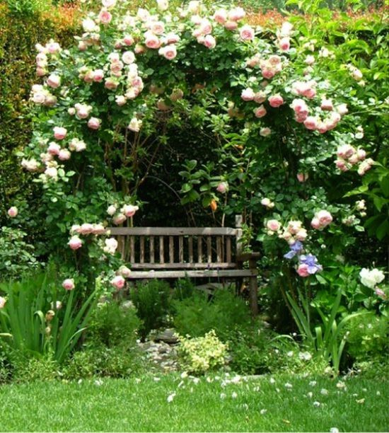 Romantic Garden Design: 20 Most Romantic Garden Arbors