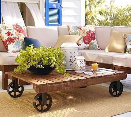Coffee table garden