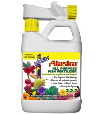 8) Alaska All Purpose Organic Fish Fertilizer