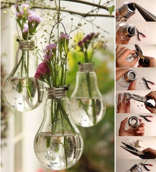 Lightbulb Planter