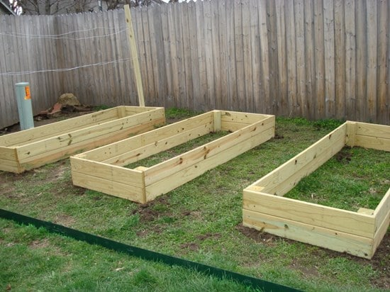Lumber Raised Garden Beds 1024x768