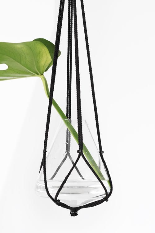Nylon-Rope-Planter