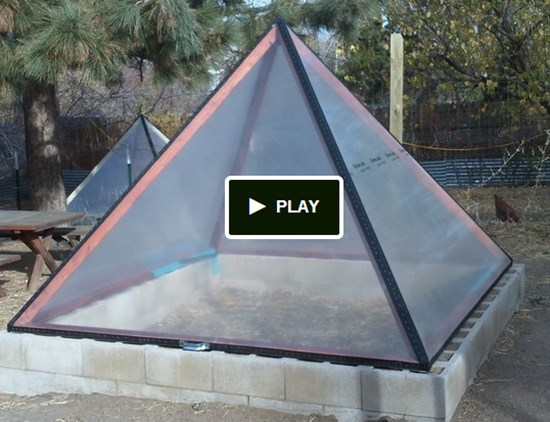 Pyramid-shape-greenhouse