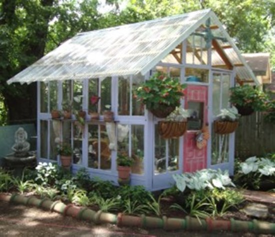 Scrap Door Greenhouse