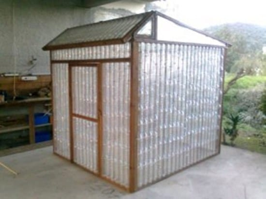 plastic-bottle-green-house
