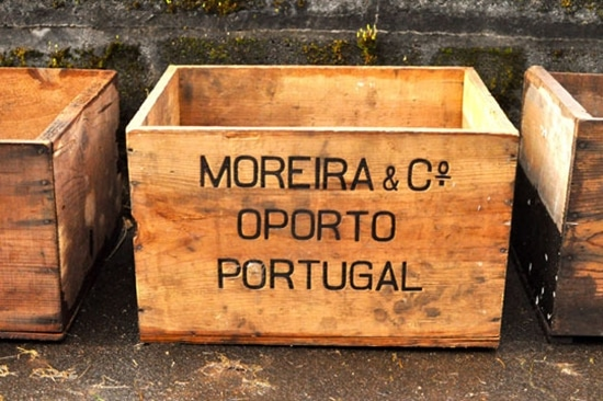 3) Planter from a Wooden Crate