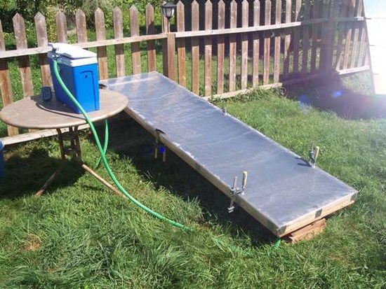 11) Simple DIY solar water heater