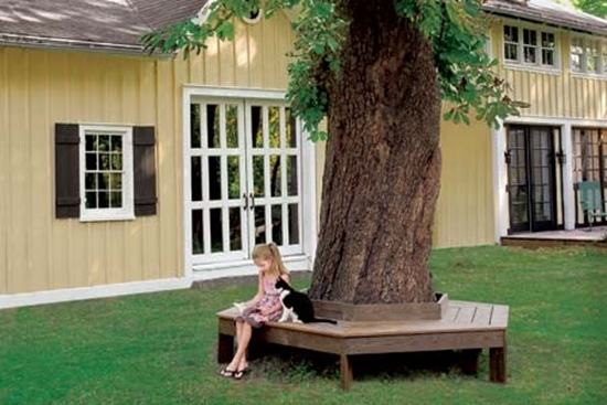Tree-Garden-Bench-Seat-Plan