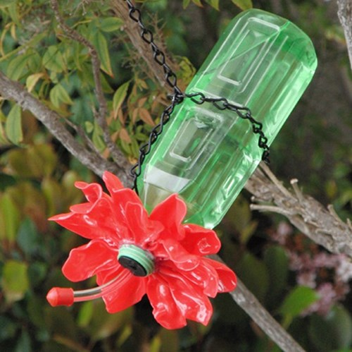 8) Plastic Decoration Bottles