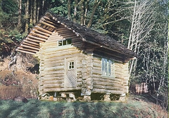 10 amazing diy log cabins everyone dreams for Cheap built homes