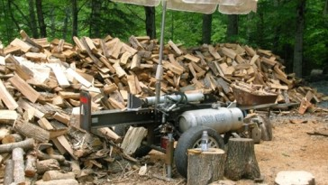 Small Log Splitter