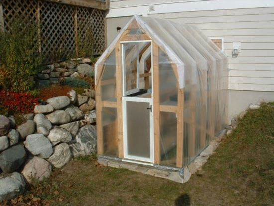 HOMEMADE THRIFTY GREENHOUSE