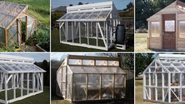 SIMPLE WOOD GREENHOUSE