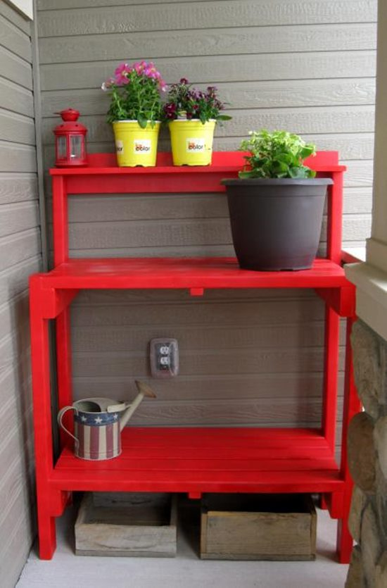 Remarkable Diy Potting Bench Plans To Make Your Gardening Easier Gmtry Best Dining Table And Chair Ideas Images Gmtryco