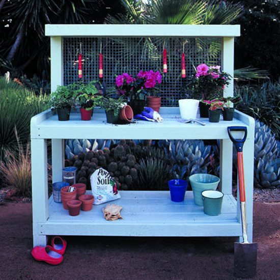 Elegant In Style Garden Workbench. More Recommended And Suggested Potting  Bench ...