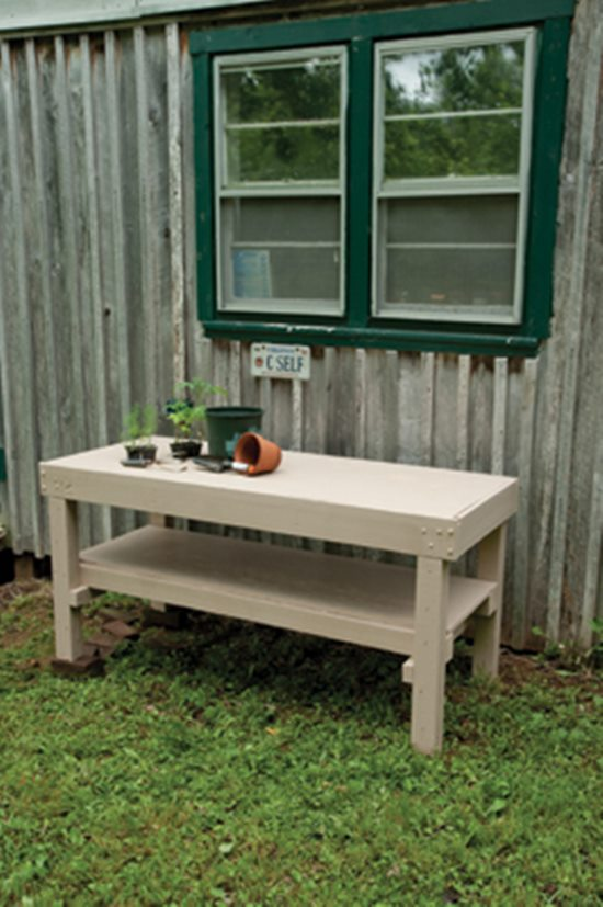 Diy potting bench plans to make your gardening easier short in length potting bench solutioingenieria Image collections